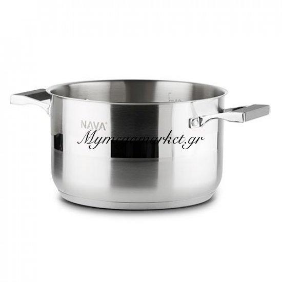 Hμίχυτρα 28 cm Acer Stainless Steel 18/8 - Nava Στην κατηγορία Κατσαρόλες | Mymegamarket.gr
