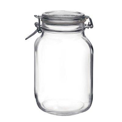 Βάζο αποθήκευσης γυάλινο τροφίμων - Fido - 3000 ml