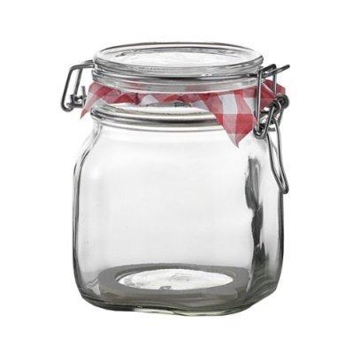 Βάζο αποθήκευσης γυάλινο τροφίμων - Fido - 500 ml