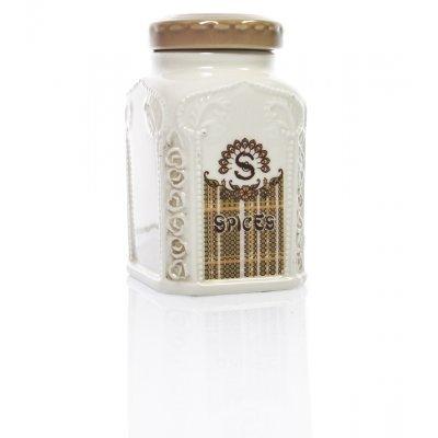 Βαζάκι πορσελάνινο Spices με σχέδιο - Nava
