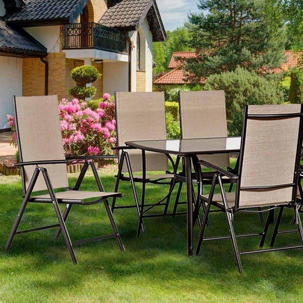 Τραπεζαρίες κήπου με καρέκλες | Mymegamarket.gr