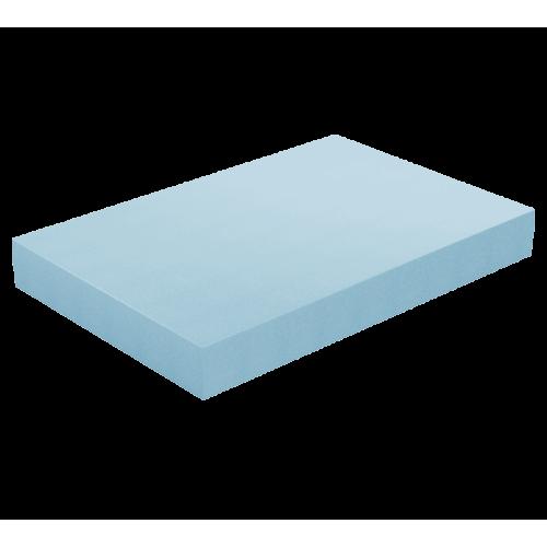 Φύλλο Αφρολέξ Μασίφ 400 Σκληρότητα Very Hard Γαλάζιο 100 X 200 x (2 εώς 30 εκ.)