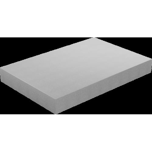 Φύλλο Αφρολέξ Μασίφ 300 Σκληρότητα Very Hard Γκρι 100 X 200 x (2 εώς 30 εκ.)