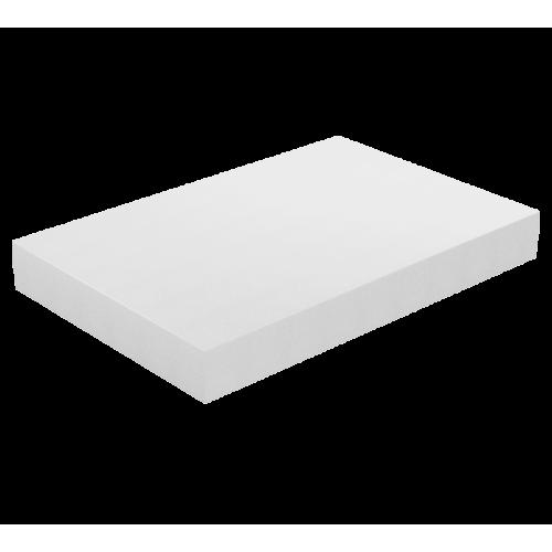 Φύλλο Αφρολέξ Μασίφ 250 Σκληρότητα Medium Λευκό 100 X 200 x (2 εώς 30 εκ.)