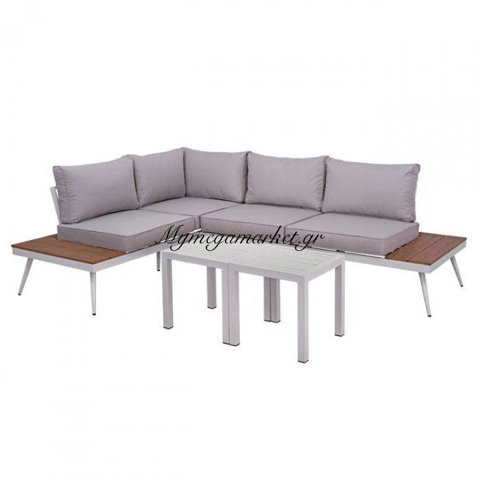 Σετ Εξωτερικού Χώρου Καναπές Με Δύο Τραπέζια Hm10282 | Mymegamarket.gr