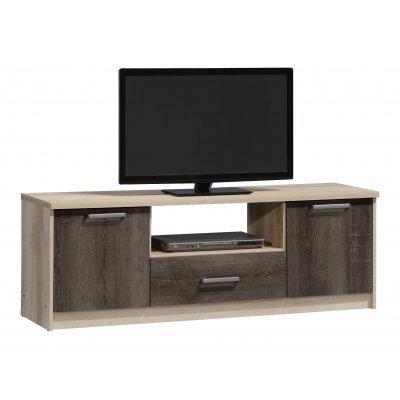 Έπιπλο τηλεόρασης OLYMPUS χρώμα castillo-toro δρυς 144,5x39,5x50,5εκ. | Mymegamarket.gr