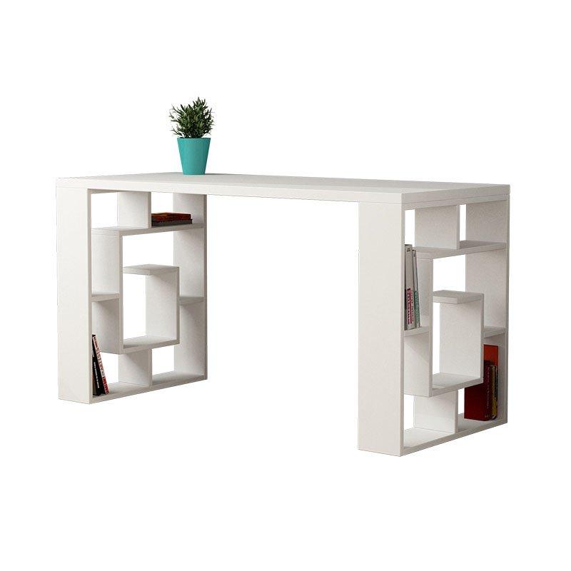 Γραφείο Labirent λευκό 140x60x75