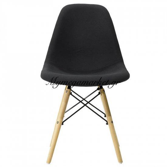 Καρέκλα Julita πολυπροπυλενίου με επένδυση υφάσματος χρώμα μαύρο επαγγελματική κατασκευή Στην κατηγορία Καρέκλες εσωτερικού χώρου   Mymegamarket.gr
