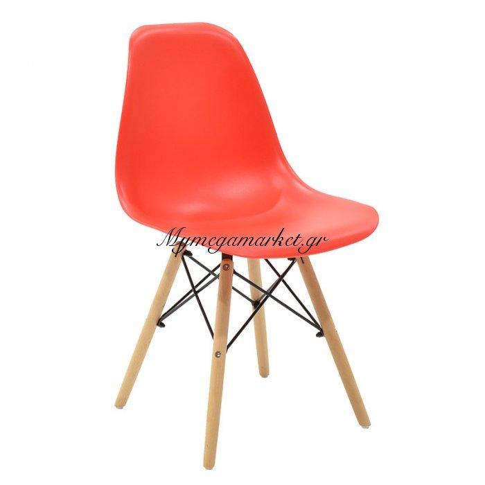 Καρέκλα Julita PP χρώμα κόκκινο επαγγελματική κατασκευή | Mymegamarket.gr