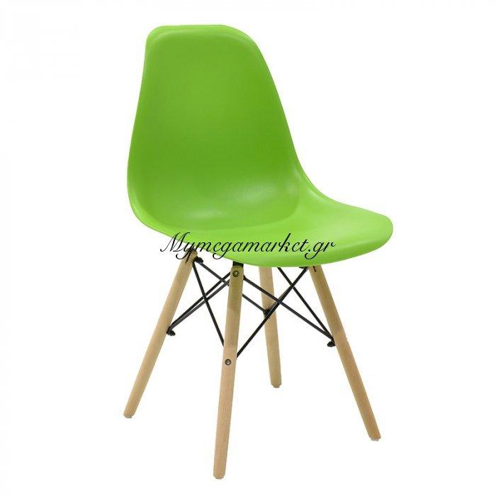 Καρέκλα Julita PP χρώμα πράσινο επαγγελματική κατασκευή | Mymegamarket.gr