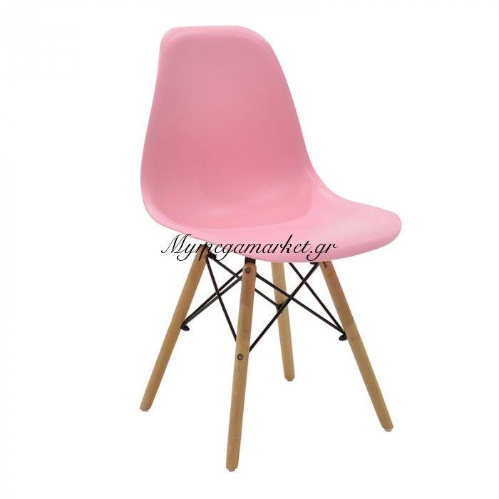 Καρέκλα Julita PP χρώμα ροζ επαγγελματική κατασκευή | Mymegamarket.gr