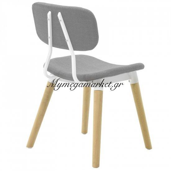 Καρέκλα Narla υφασμάτινη χρώμα γκρι Στην κατηγορία Καρέκλες εσωτερικού χώρου | Mymegamarket.gr