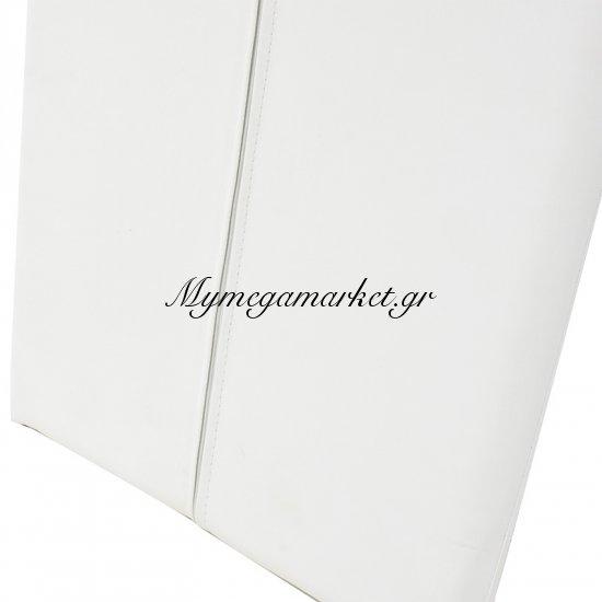 Καρέκλα Tina με PU χρώμα λευκό Στην κατηγορία Καρέκλες εσωτερικού χώρου   Mymegamarket.gr