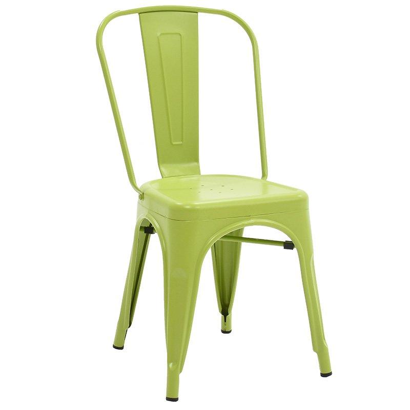 Καρέκλα Utopia μεταλλική χρώμα πράσινο