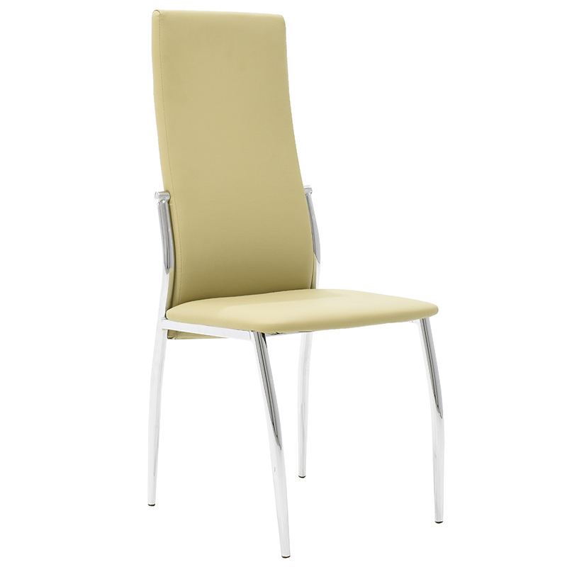 Καρέκλα Vana με PU χρώμα λαδί