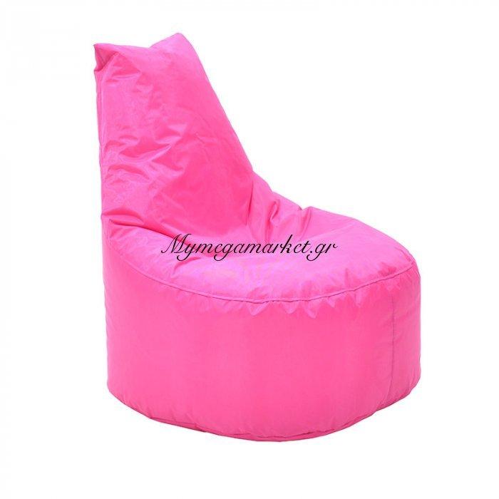 Πουφ πολυθρόνα Norm PRO επαγγελματικό 100% αδιάβροχο ροζ | Mymegamarket.gr