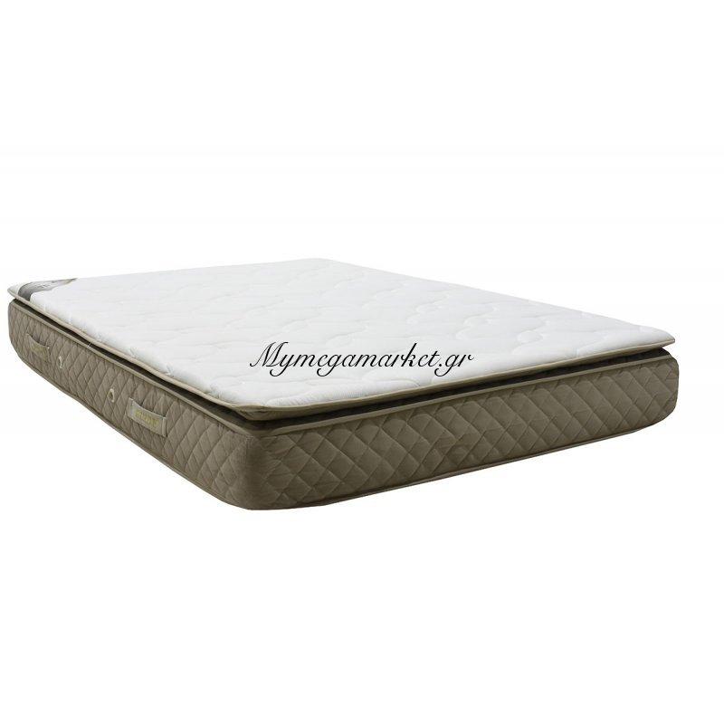 Στρώμα ύπνου Safir ορθοπεδικό 100x200 με επίστρωμα - πάχος 26cm