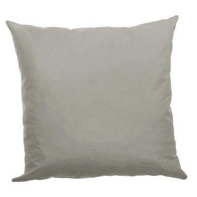 Μαξιλάρι καναπέ μικροφίμπρα σε γκρί απόχρωση 45 x 45 cm