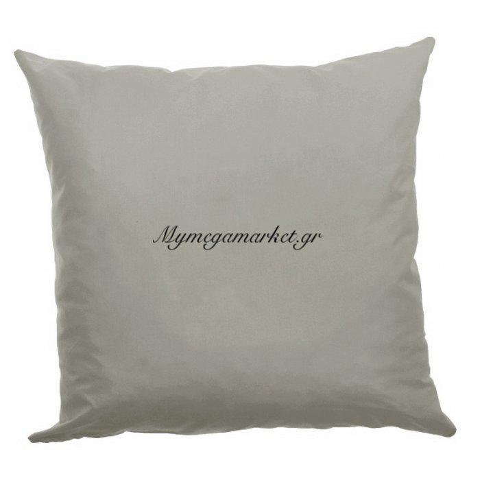 Μαξιλάρα δαπέδου μικροφίμπρα σε γκρί απόχρωση 70 x 70 cm | Mymegamarket.gr