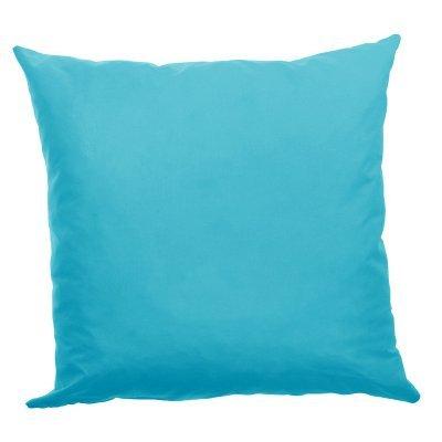 Μαξιλάρι καναπέ μικροφίμπρα σε τυρκουάζ απόχρωση 45 x 45 cm