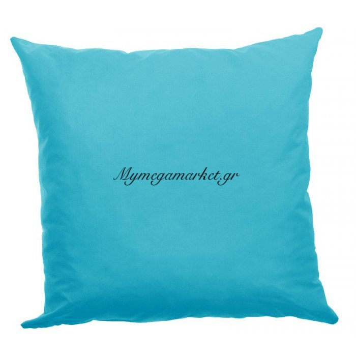 Μαξιλάρι καναπέ μικροφίμπρα σε τυρκουάζ απόχρωση 45 x 45 cm | Mymegamarket.gr