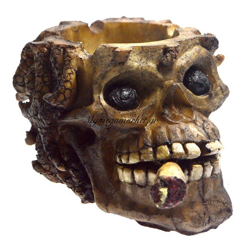 Τασάκι κεραμικό νεκροκεφαλή 2LG-68-1