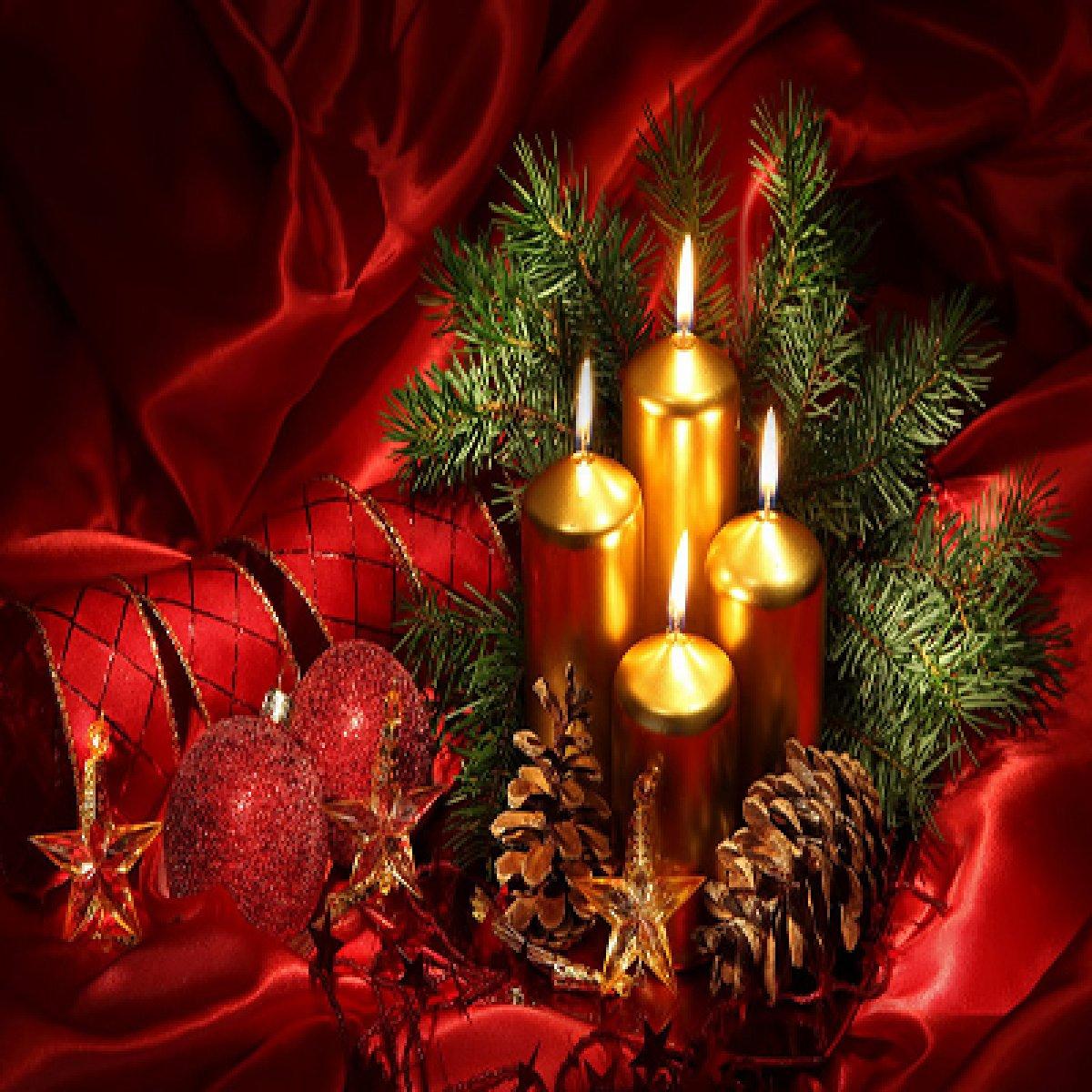 Κεριά Χριστουγεννιάτικα | Mymegamarket.gr