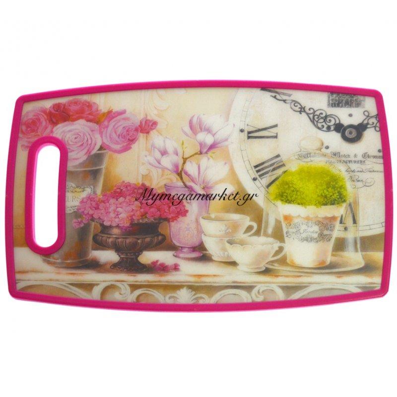 Βάση κοπής πλαστική - Αντιολισθητική με χερούλι design Kitchen by Mymegamarket.gr