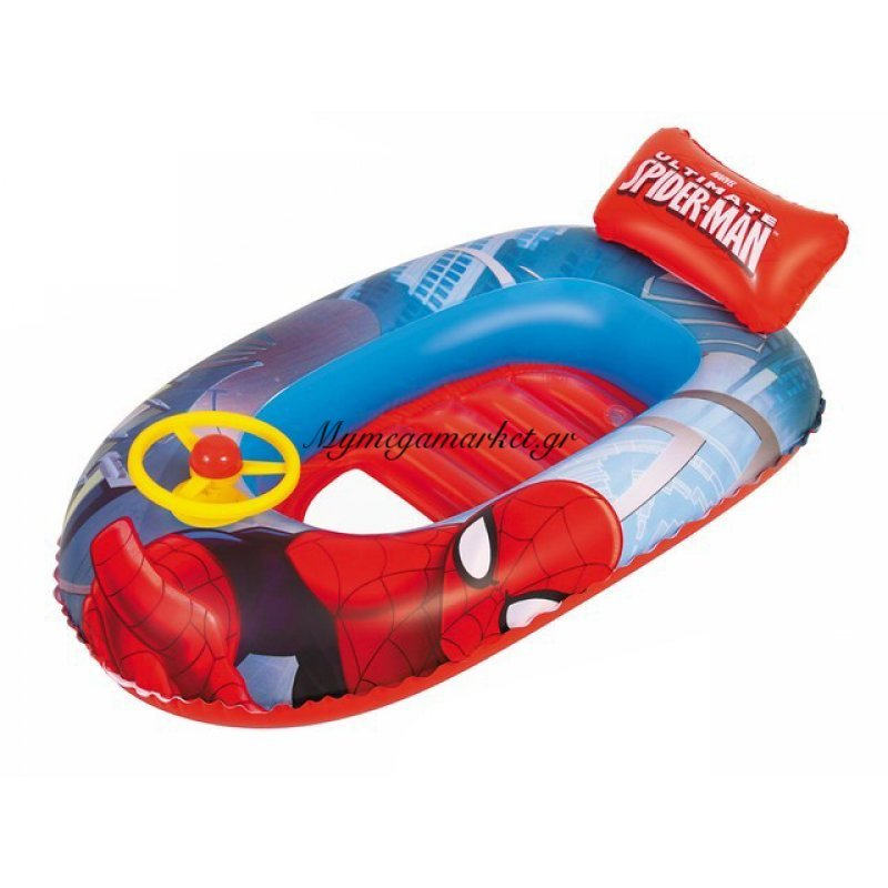 Βάρκα παιδική με τιμόνι - Spiderman - Bestway