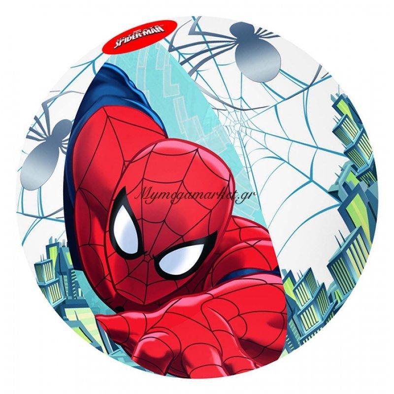 Μπάλα φουσκωτή Spiderman 51 cm