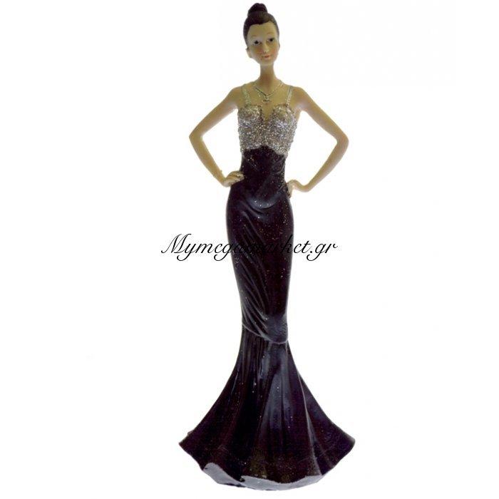 Μαρκησία κεραμική με μάυρη φορεσιά - LG111-1 | Mymegamarket.gr