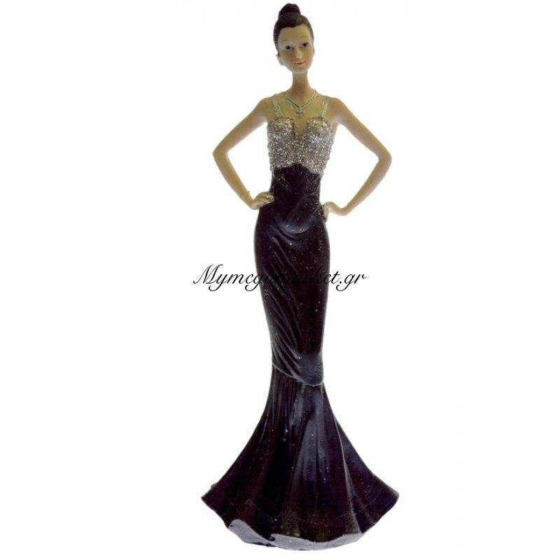 Μαρκησία κεραμική με μάυρη φορεσιά - LG111-1
