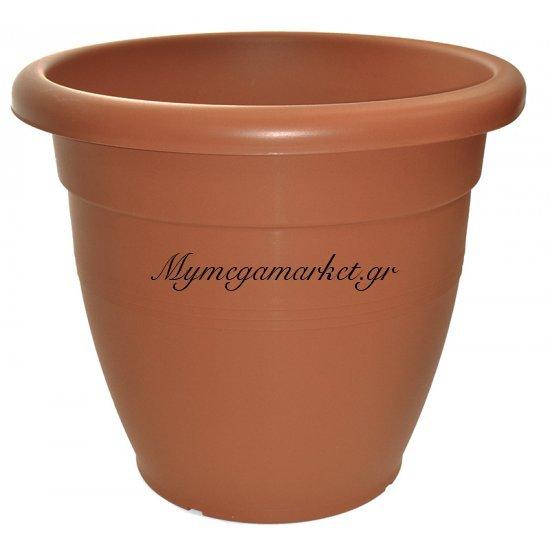 Γλάστρα πλαστική τερακότα Νο 242 Στην κατηγορία Γλάστρες - Ποτιστήρια - Λάστιχα Ποτίσματος | Mymegamarket.gr