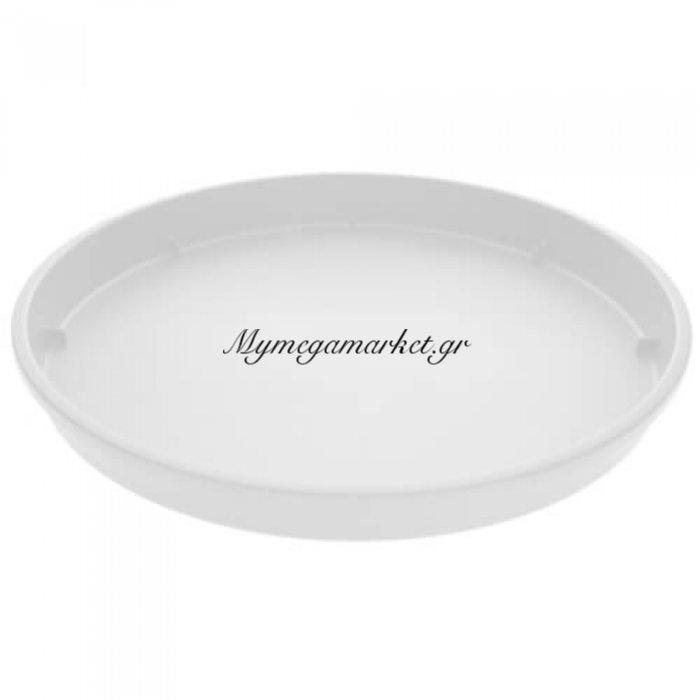 Πιάτο γλάστρας Linea χρώμα λευκό σε 4 διαστάσεις | Mymegamarket.gr