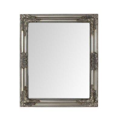 Καθρέπτης τοίχου ορθογώνιος ασημί - Nava