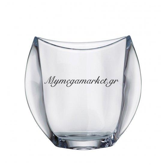 Βάζο κρυστάλλινο Bohemia 18cm Orbit Στην κατηγορία Βάζα κρυστάλλινα Bohemia | Mymegamarket.gr