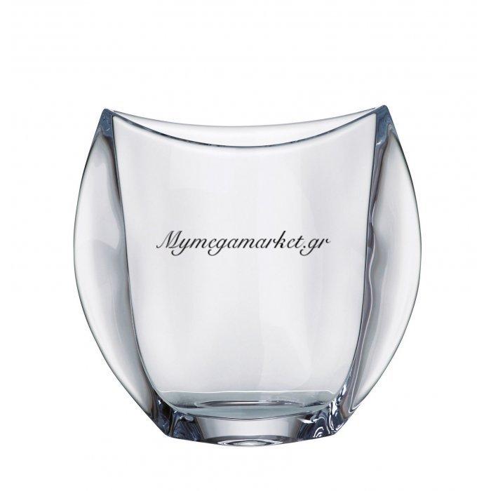 Βάζο κρυστάλλινο Bohemia 18cm Orbit | Mymegamarket.gr