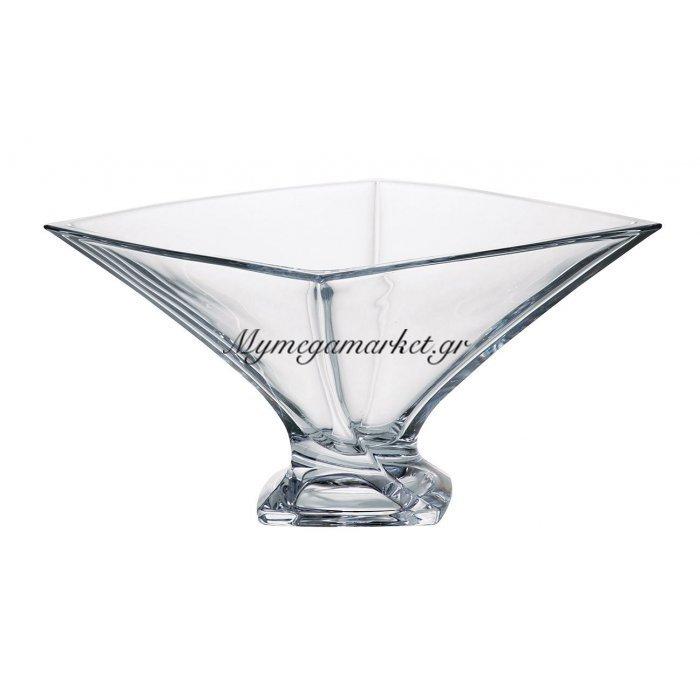 Κούπ κρυστάλλινο 22,5cm Bohemia Quadro | Mymegamarket.gr
