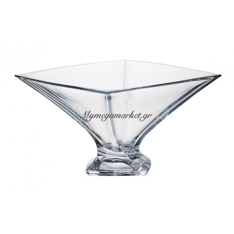Κούπ κρυστάλλινο 32,5cm Bohemia Quadro Στην κατηγορία Μπόλ & κούπ κρυστάλλινα Bohemia | Mymegamarket.gr