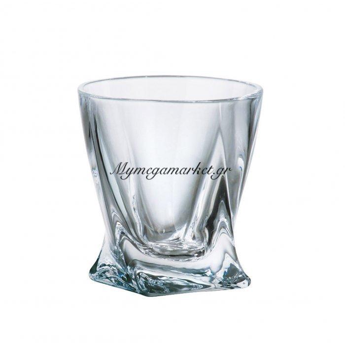 Ποτήρι λικέρ κρυστάλλινο 55ml Bohemia Quadro | Mymegamarket.gr