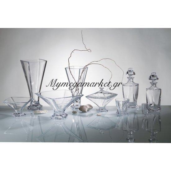 Κούπ κρυστάλλινο 22,5cm Bohemia Quadro Στην κατηγορία Μπόλ & κούπ κρυστάλλινα Bohemia | Mymegamarket.gr