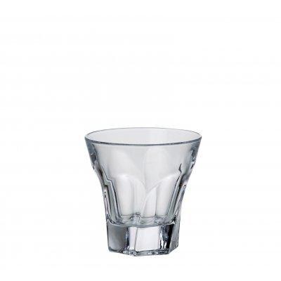 Ποτήρι ουϊσκι κρυστάλλινο Bohemia 230ml Apollo