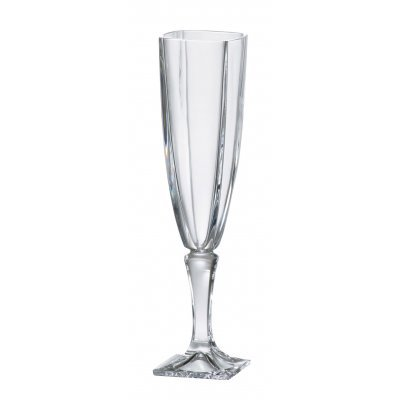 Ποτήρι ούζου με πόδι κρυστάλλινο Bohemia 140ml Arezzo