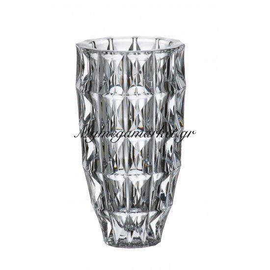 Βάζο κρυστάλλινο Bohemia 28cm Diamond Στην κατηγορία Βάζα κρυστάλλινα Bohemia | Mymegamarket.gr