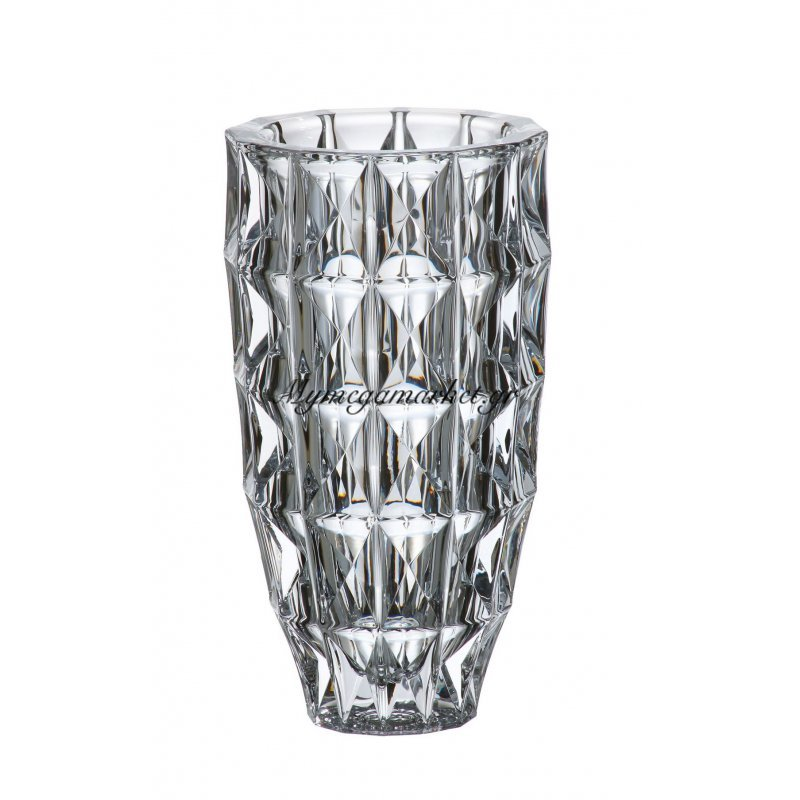 Βάζο κρυστάλλινο Bohemia 25,5cm Diamond by Mymegamarket.gr