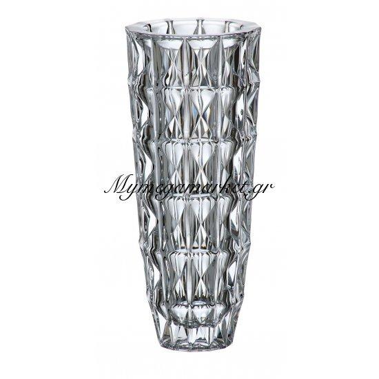 Βάζο κρυστάλλινο Bohemia 33cm Diamond Στην κατηγορία Βάζα κρυστάλλινα Bohemia | Mymegamarket.gr