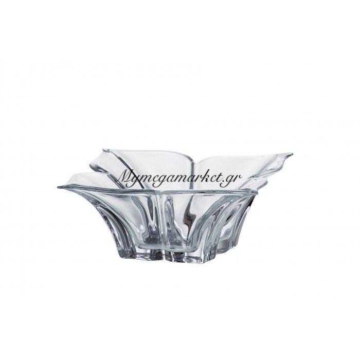 Κούπ κρυστάλλινο Bohemia 20,5cm Florale | Mymegamarket.gr