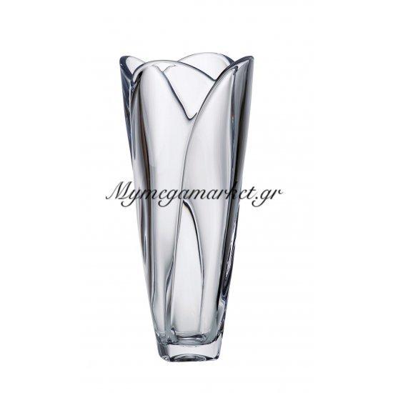 Βάζο κρυστάλλινο Bohemia 30,5cm Globus Στην κατηγορία Βάζα κρυστάλλινα Bohemia | Mymegamarket.gr