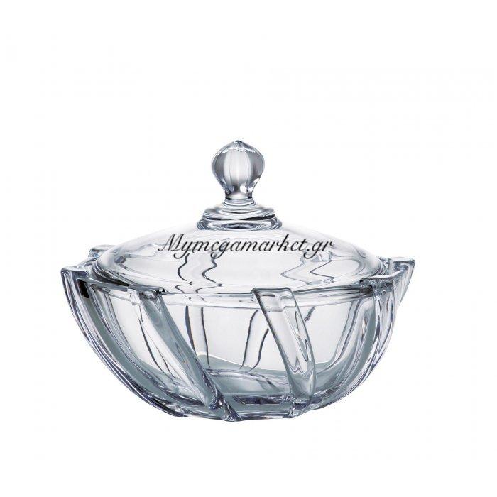 Φοντανιέρα κρυστάλλινη Bohemia 19cm Infinity | Mymegamarket.gr