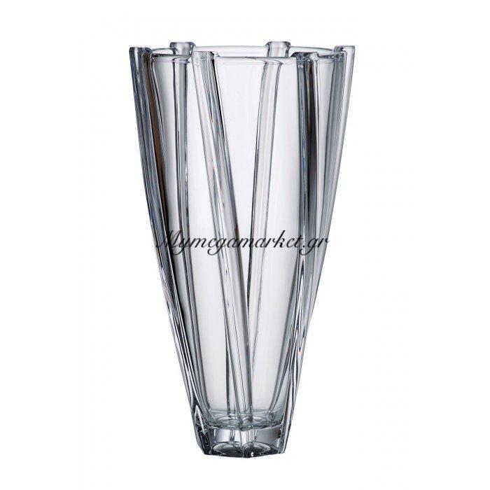 Βάζο κρυστάλλινο Bohemia 30,5cm Infinity | Mymegamarket.gr